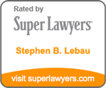 Links to Stephen B. Lebau on Super Lawyers